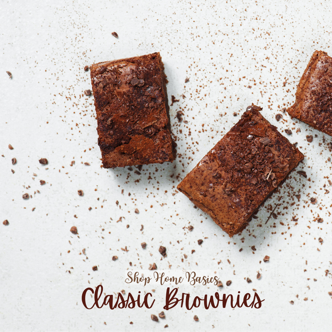 Classic Brownies - Shop Home Basics