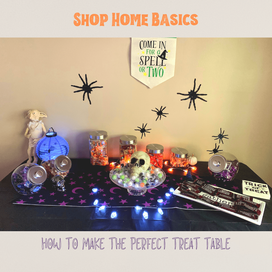 The Ultimate Halloween Treat Table Guide - Shop Home Basics