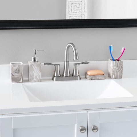 Home Basics 4 piece bath set