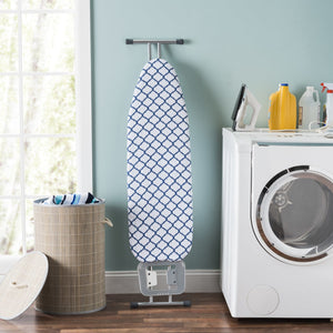 Sunbeam Lattice Cotton Ironing Board Cover, Purple