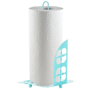 Trinity Collection Paper Towel Holder, Turquoise