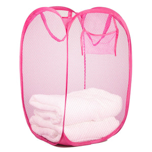 Sunbeam Collapsible & Pop Up Hamper - Pink