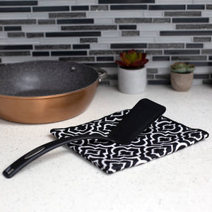 Non-Stick Nylon Spatula, Black