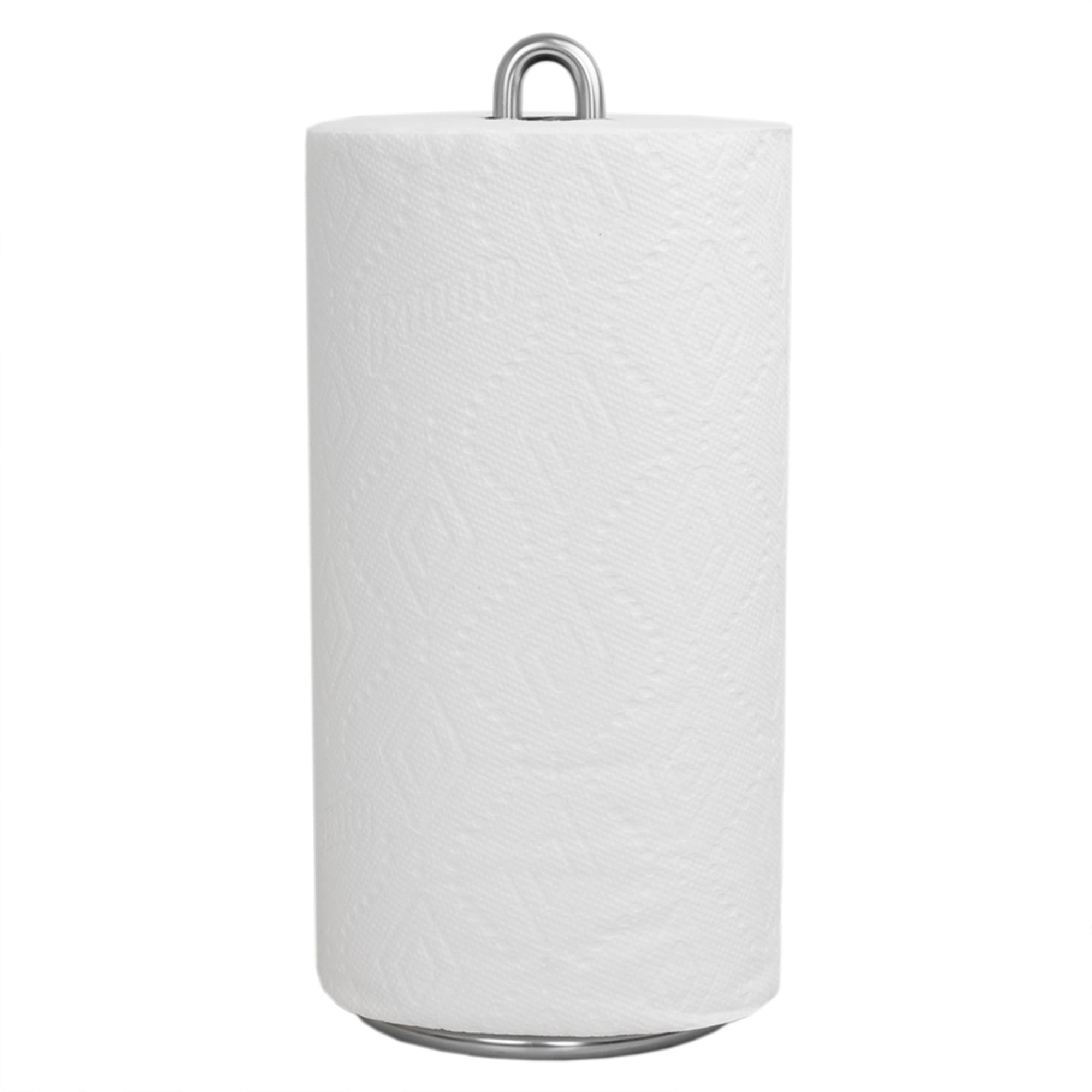 Simplicity Collection Paper Towel Holder, Satin Chrome