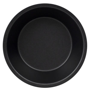 Home Basics Non-Stick Quick Release Steel Mini Bakeware Pan, Round - Black