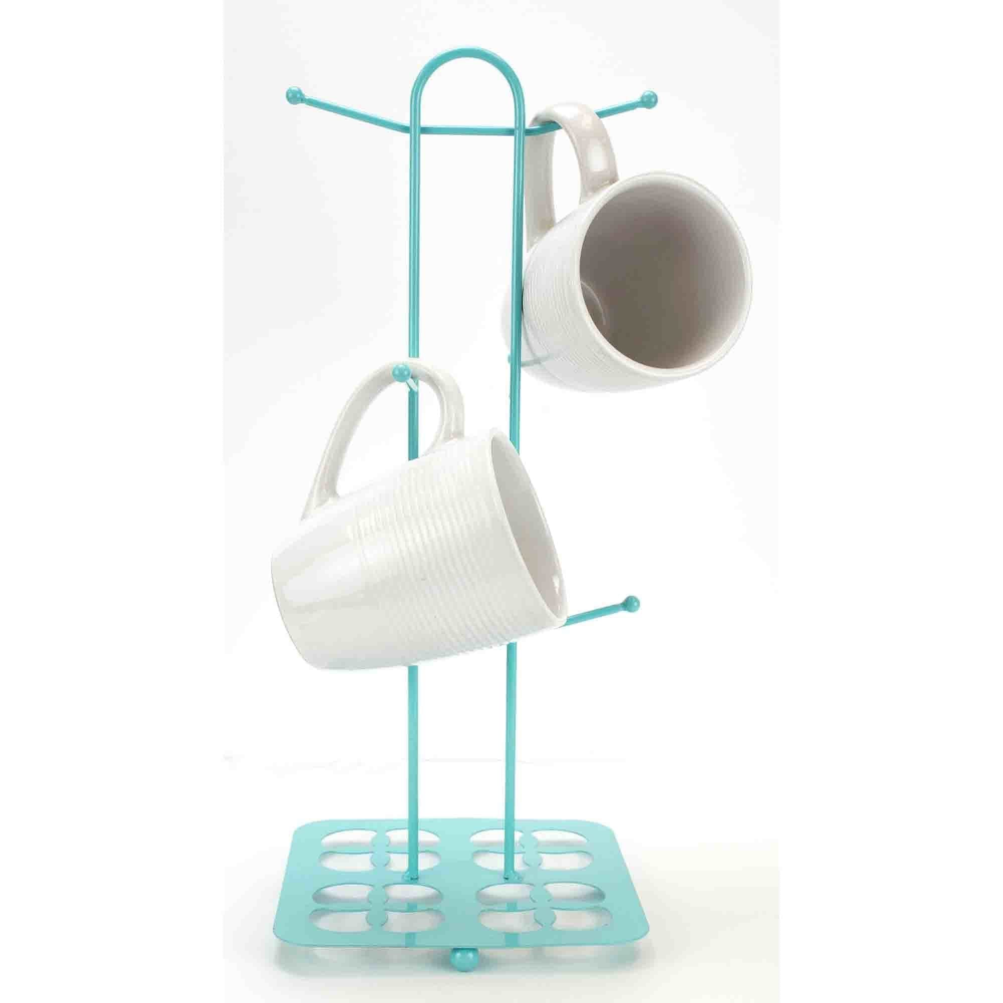 Trinity Collection Mug Tree, Turquoise