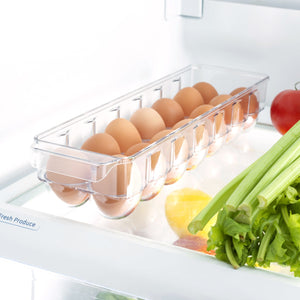 14 Egg Plastic Holder with Lid, Plastic