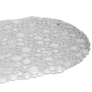 Double Bubble Bath Mat, Clear