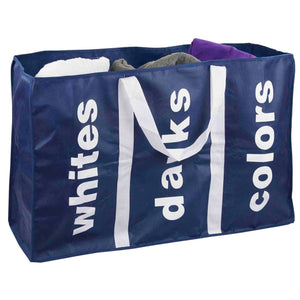 Sunbeam Navy 3 Section Laundry Bag
