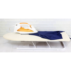 Sunbeam Tabletop Ironing Board with Rest and Cover