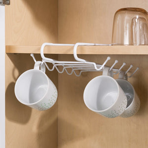 Under-the-Shelf Mug Rack
