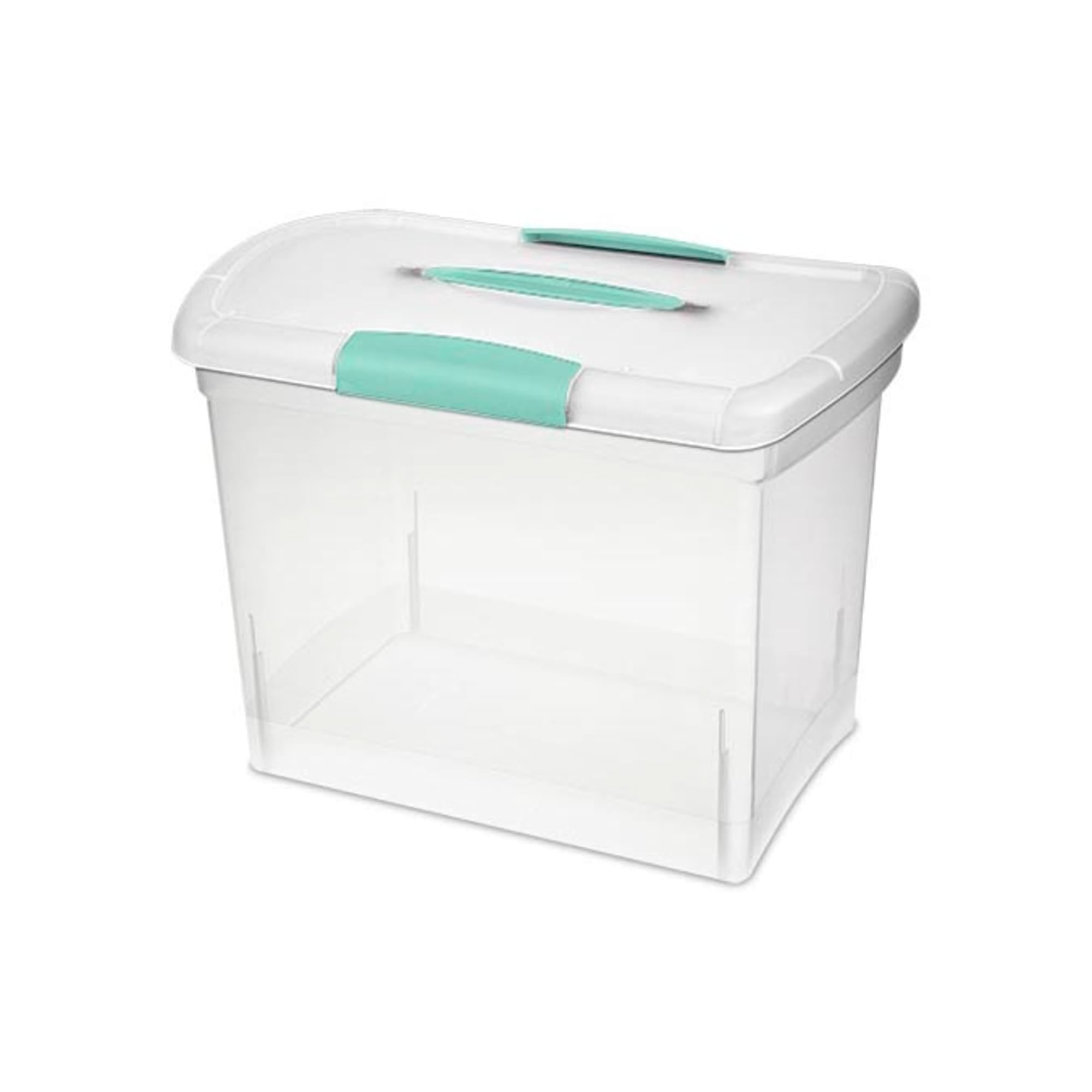 Sterilite 2 Gal. Large Nesting Showoff Storage Box