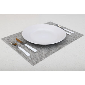 16 Piece Stainless Steel with Plastic Handles