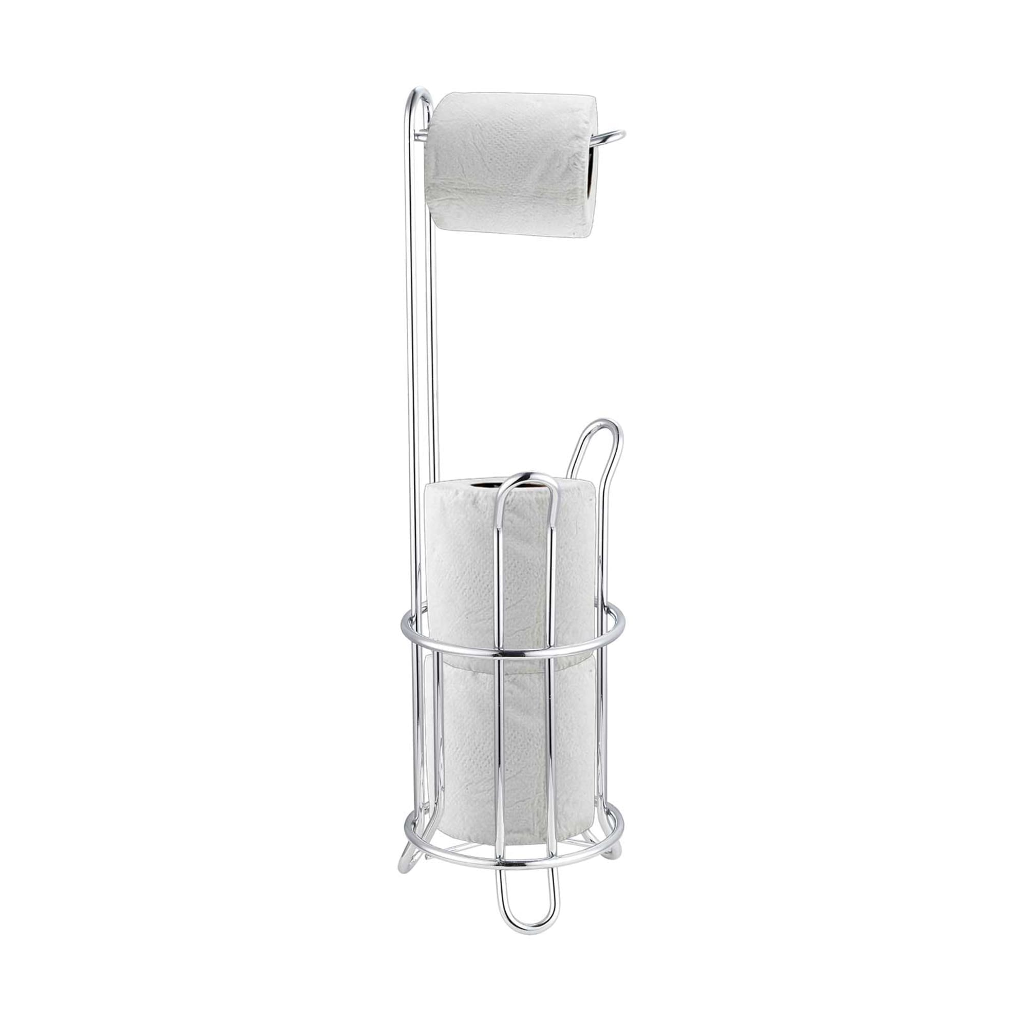 Heavy Duty Chrome Plated Steel Toilet Paper Holder