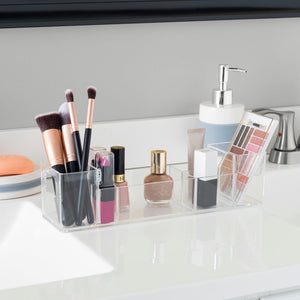 Wide Cosmetic Organizer, Clear