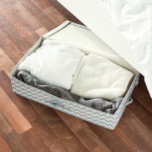 Chevron Under-the-Bed Storage Box