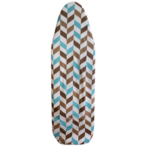 Sunbeam Chevron Cotton Ironing Board Cover, Multi-Color