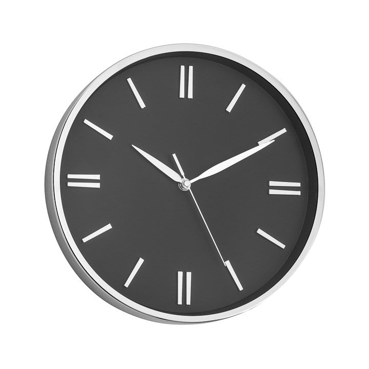 "12"" Lino Clock - Black"