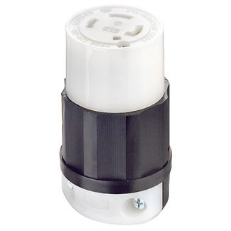 30A 250V 3-Phase Twist-Lock Connector Cord Cap