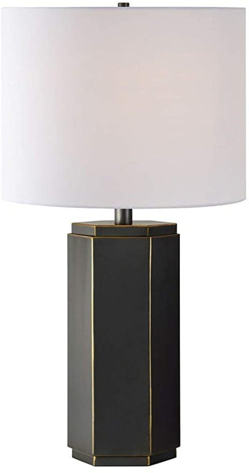 Valentia Raw Metal Table Lamp