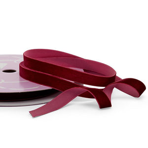 Load image into Gallery viewer, Burgundy Velvet Ribbon