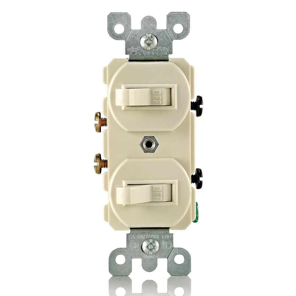 Combo 2xSingle-Pole Toggle Switch