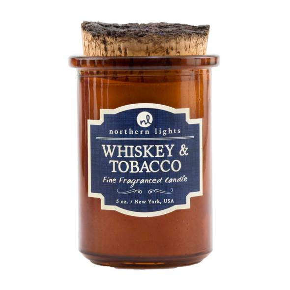 Whiskey & Tobacco Spirit Jar
