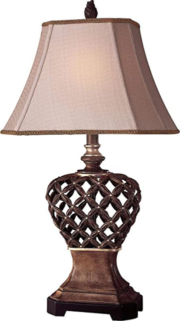 Warm Pecan Table Lamp