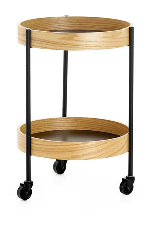 Load image into Gallery viewer, Brito 2 Tier Rolling Trolley