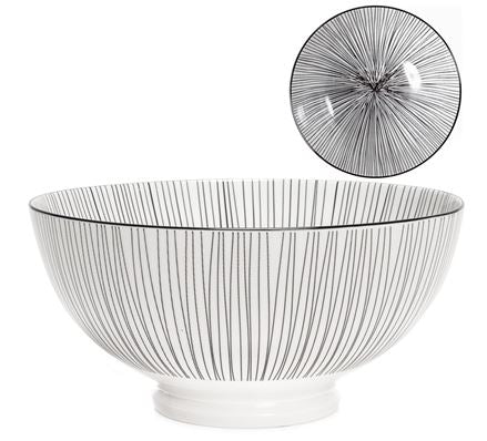 Load image into Gallery viewer, Kiri Bowl - Black Line