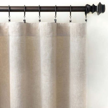 Lush Linen Natural Panel - Multiple Sizes