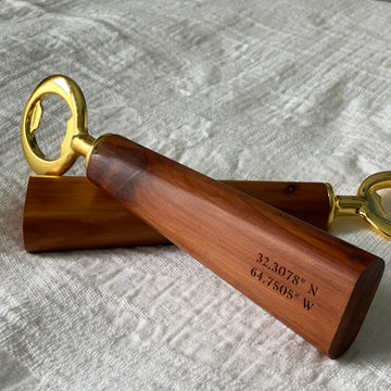Lemoncello Bottle Opener- BDA Coordinates