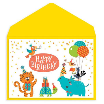 Animal Party Card