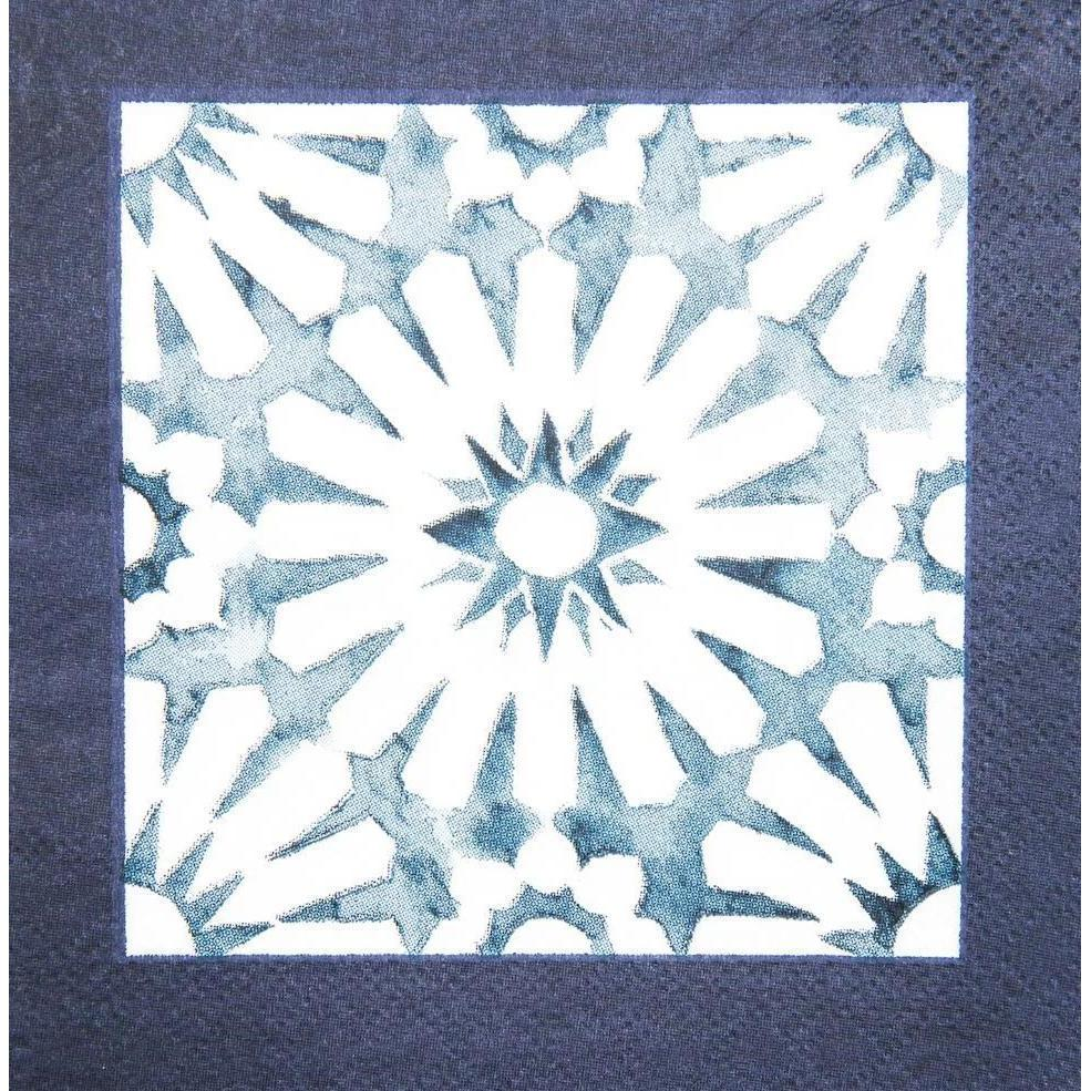 Cocktail Napkin - Indigo Batik