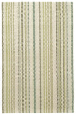 Oslo Stripe Green Rug