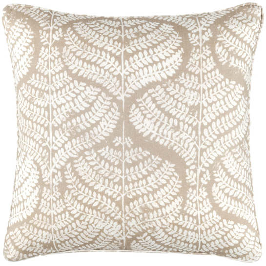Load image into Gallery viewer, Flora Linen Natural Decorative Pillow