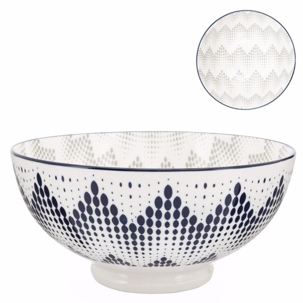 Load image into Gallery viewer, Kiri Bowl - Graphic Dots