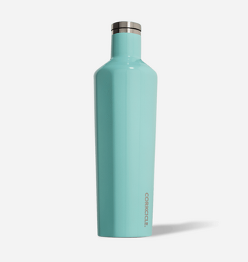 25oz Canteen - Gloss Turquoise