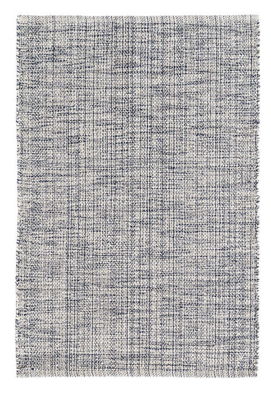 Marled Indigo Rug - Multiple Sizes