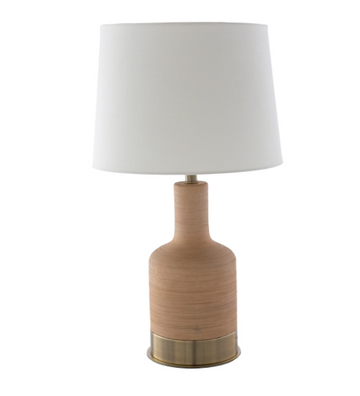 Brae Table Lamp - Beige/Peach