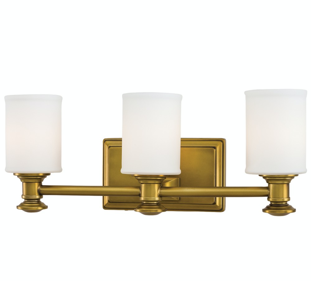 Liberty Gold Triple Bath Sconce