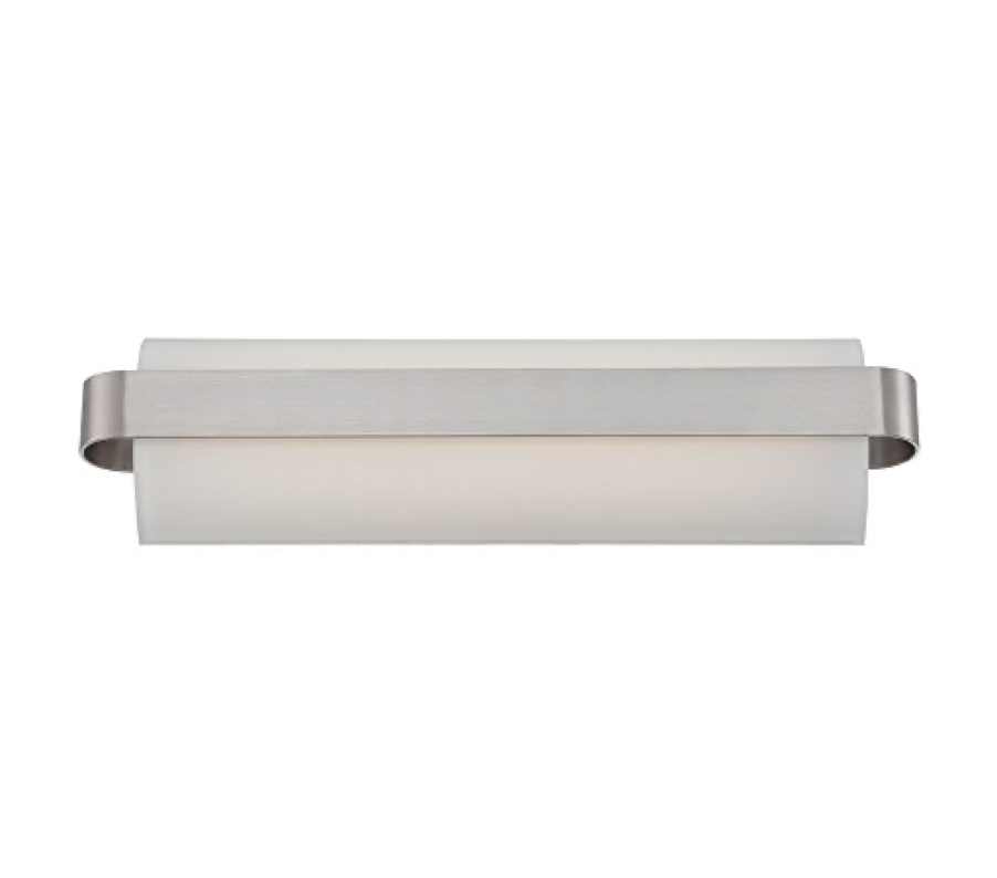 "Load image into Gallery viewer, 18"" Demi Bath Fixture - BN"