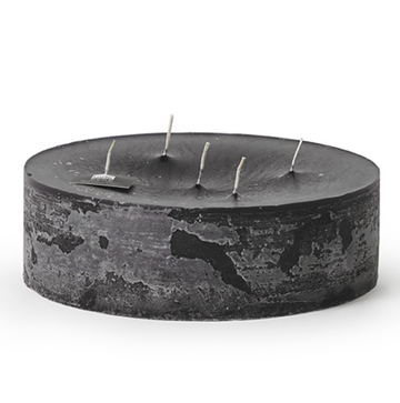 5-Wick Super Outdoor Candle - Black