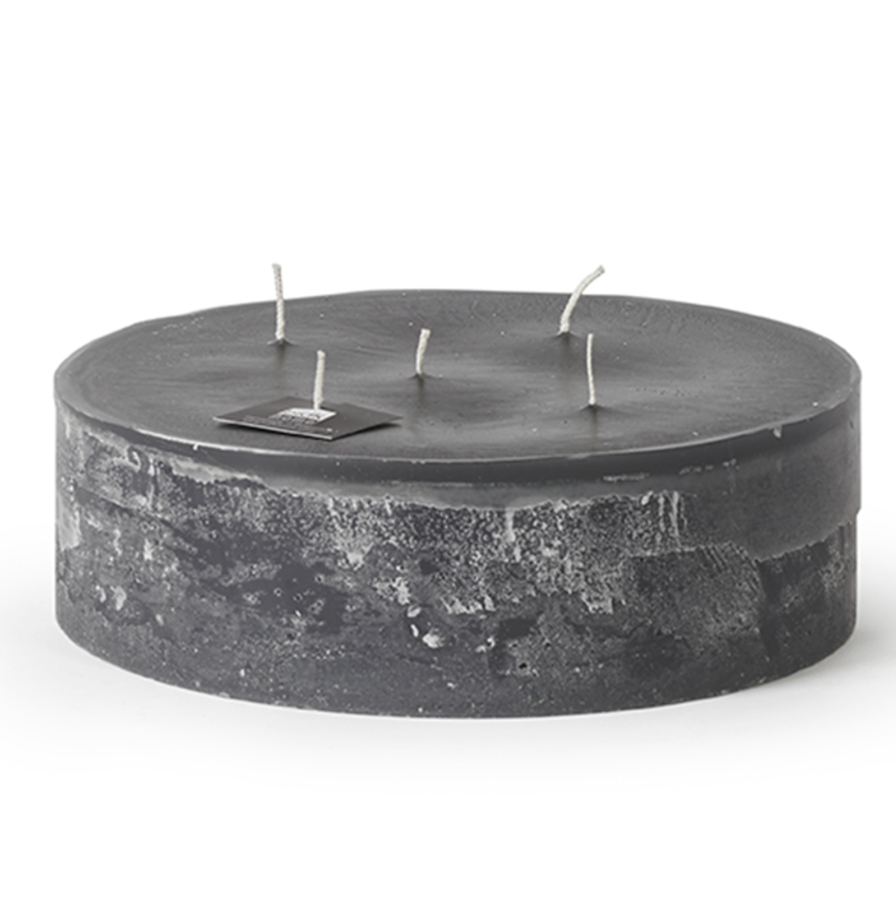 5-Wick Super Outdoor Candle - Anthracite