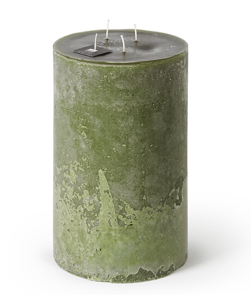 Load image into Gallery viewer, 4-Wick Super Outdoor Candle - Dark Green