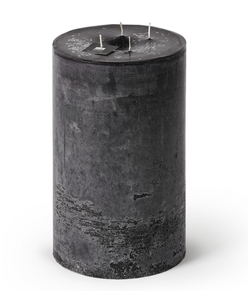 4-Wick Super Outdoor Candle - Black
