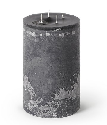 4-Wick Super Outdoor Candle - Anthracite