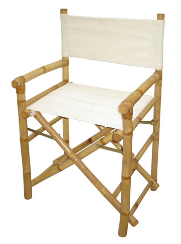 Bamboo Director Canvas Chair
