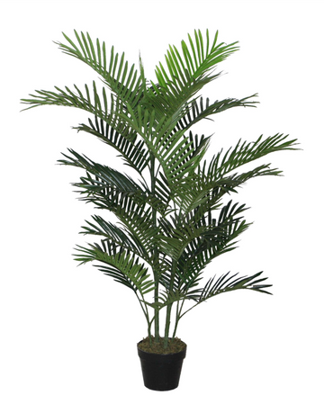 Large Faux Mini Palm w/ Pot