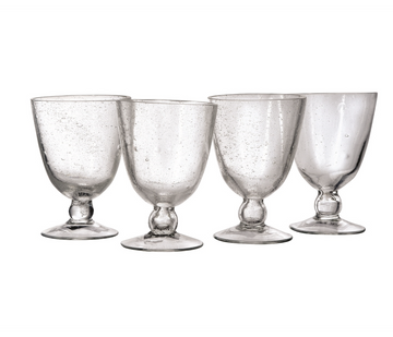 Bubble Glass - Clear (set of 4)